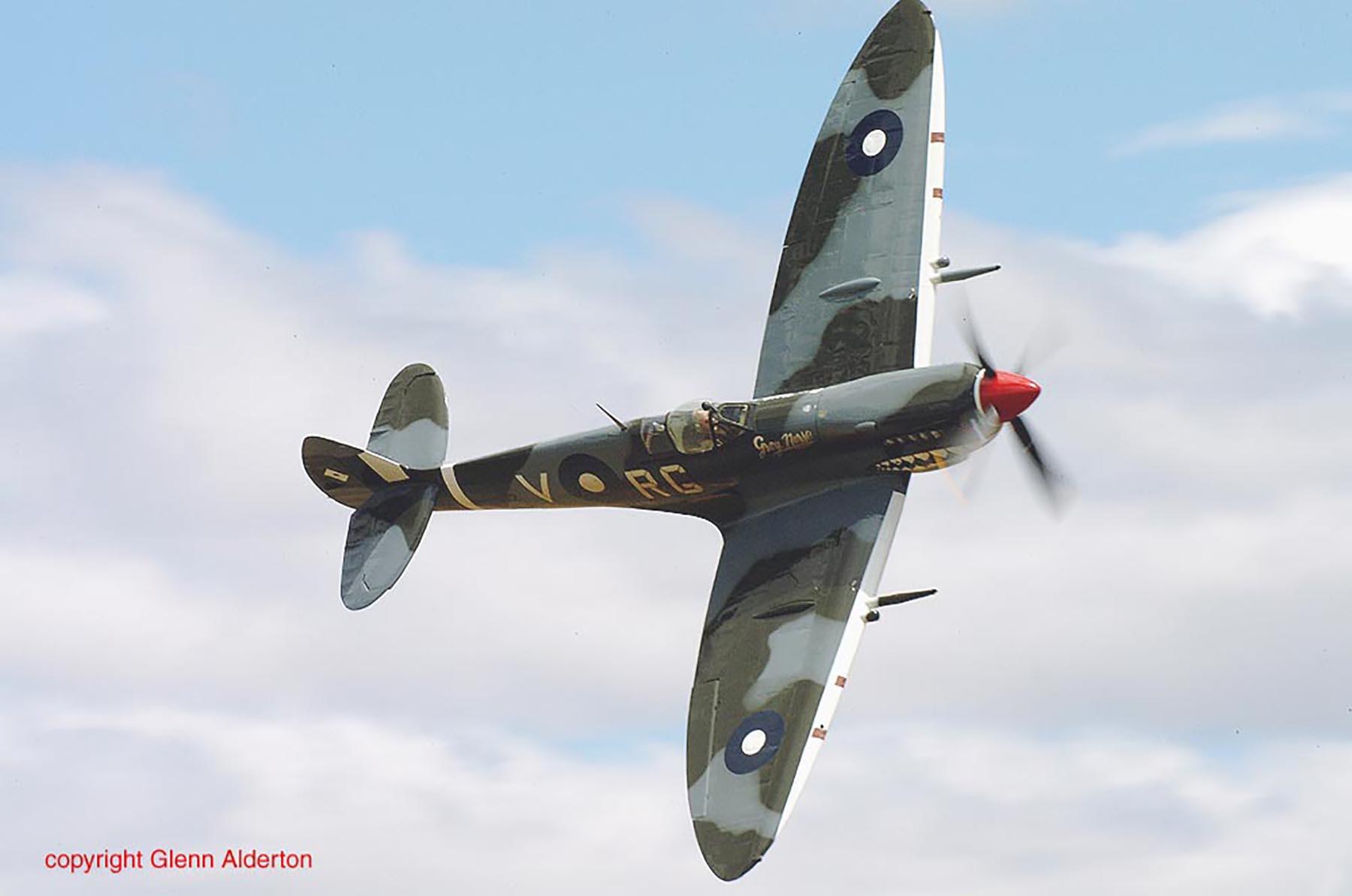 Airworthy Spitfire warbird RAAF 457Sqn RGV A58 602 12