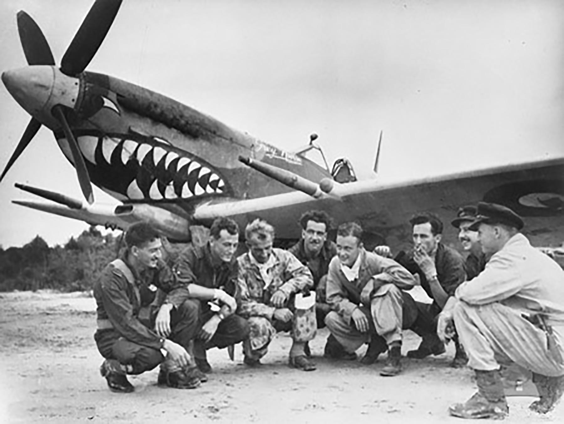 Spitfire MkVIII RAAF 457Sqn
