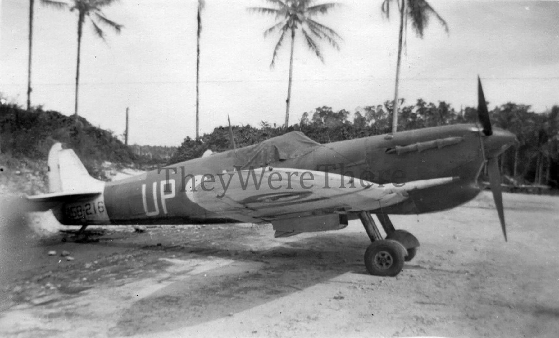 Spitfire MkVcTrop RAAF 79Sqn UPx Reid A58 216 PNG May 1944 ebay1