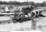 Asisbiz Spitfire MkVc RAAF 79Sqn UPD A58 185 Kiriwina 11 Sep 1945 AWM 01