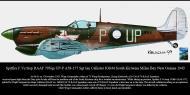 Asisbiz Spitfire MkVcTrop RAAF 79Sqn UPP A58 177 Ian Callister JG844 Kiriwina Milne Bay New Guinea 1943 0A
