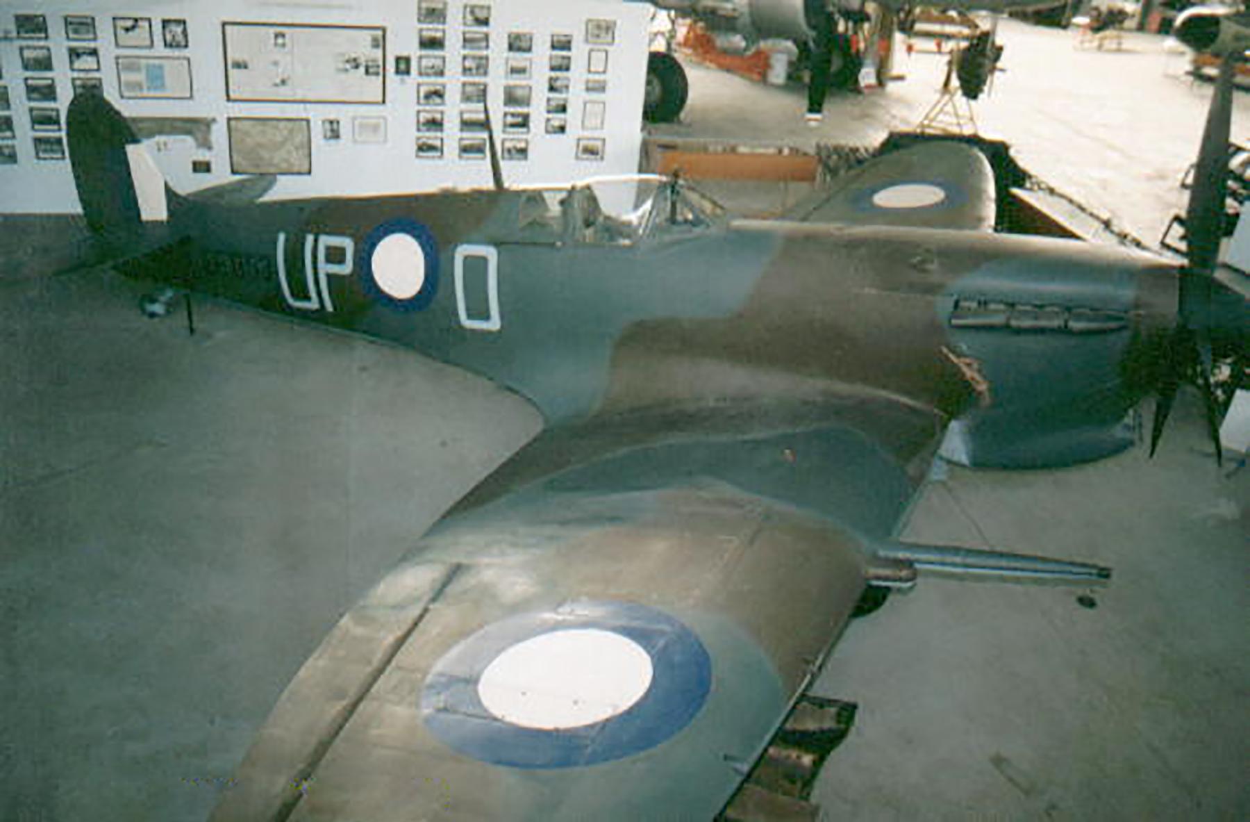 Spitfire RAAF 74Sqn A58 146 UPO presevered 01
