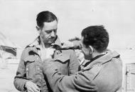 Asisbiz Aircrew RAF 112Sqn RAAF Sqn Ldr Clive Caldwell at Gambut 24 Mar 1942 IWM CM2419
