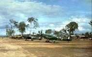 Asisbiz Spitfire VIIIs RAAF 74Sqn UPE Morotai Island Dutch East Indies 1945 01