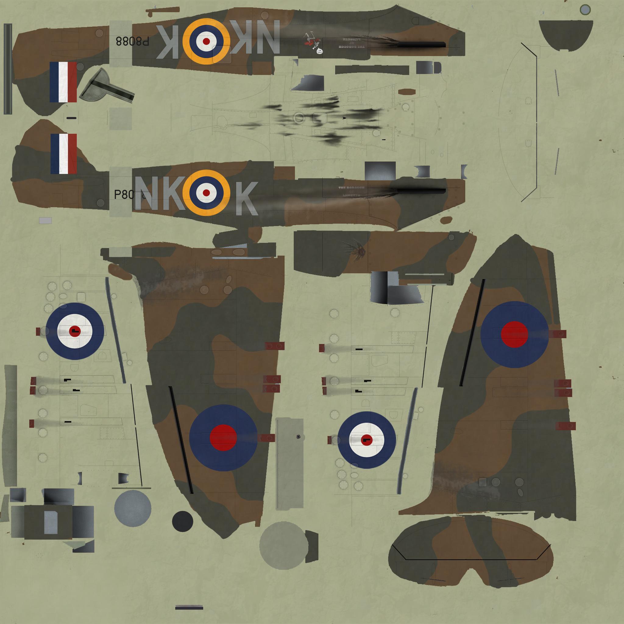COD KF MkI RAF 118Sqn NKK P8088 Lumsden in Ibsley May 1941
