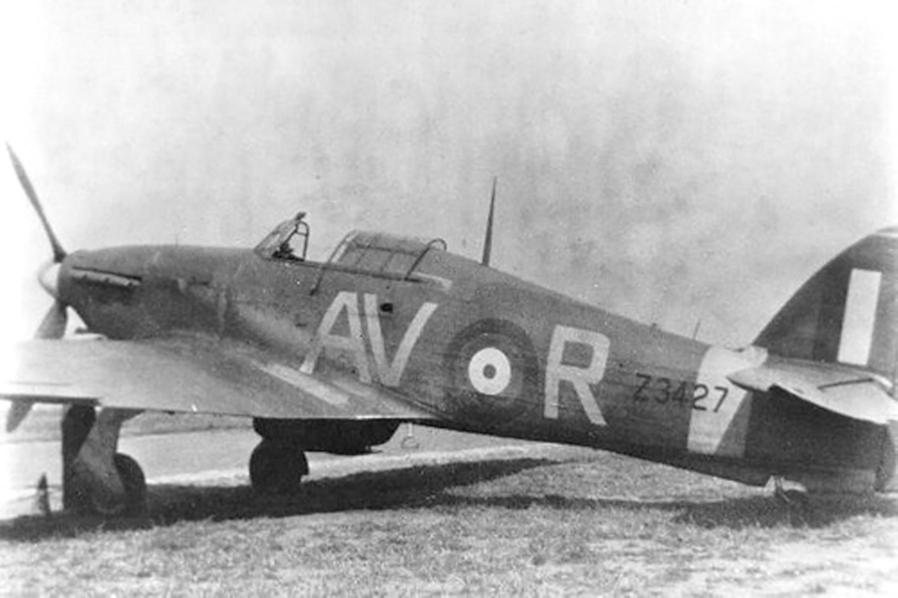 Hawker Hurricane MkII RAF 121Sqn AVR Carroll McColpin Z3427 01