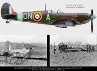 Asisbiz Spitfire MkVb RAF 124Sqn ONA Michael Reid shot down by Fw190s nr St.Omer 13th Mar 1942 0A