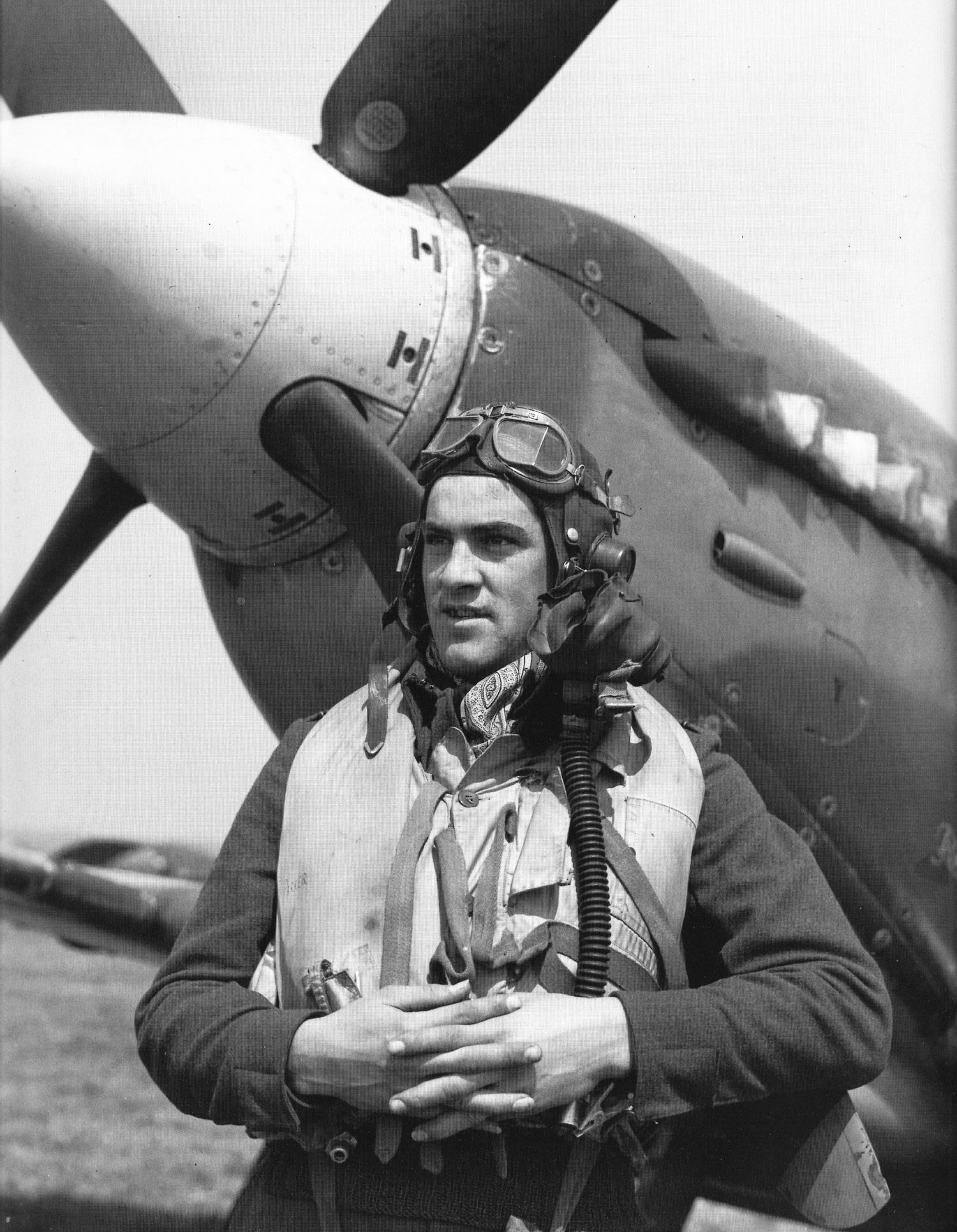 Spitfire LFIX RAF 132Sqn FFK Norm Chevers NH189 3rd July 1944 01
