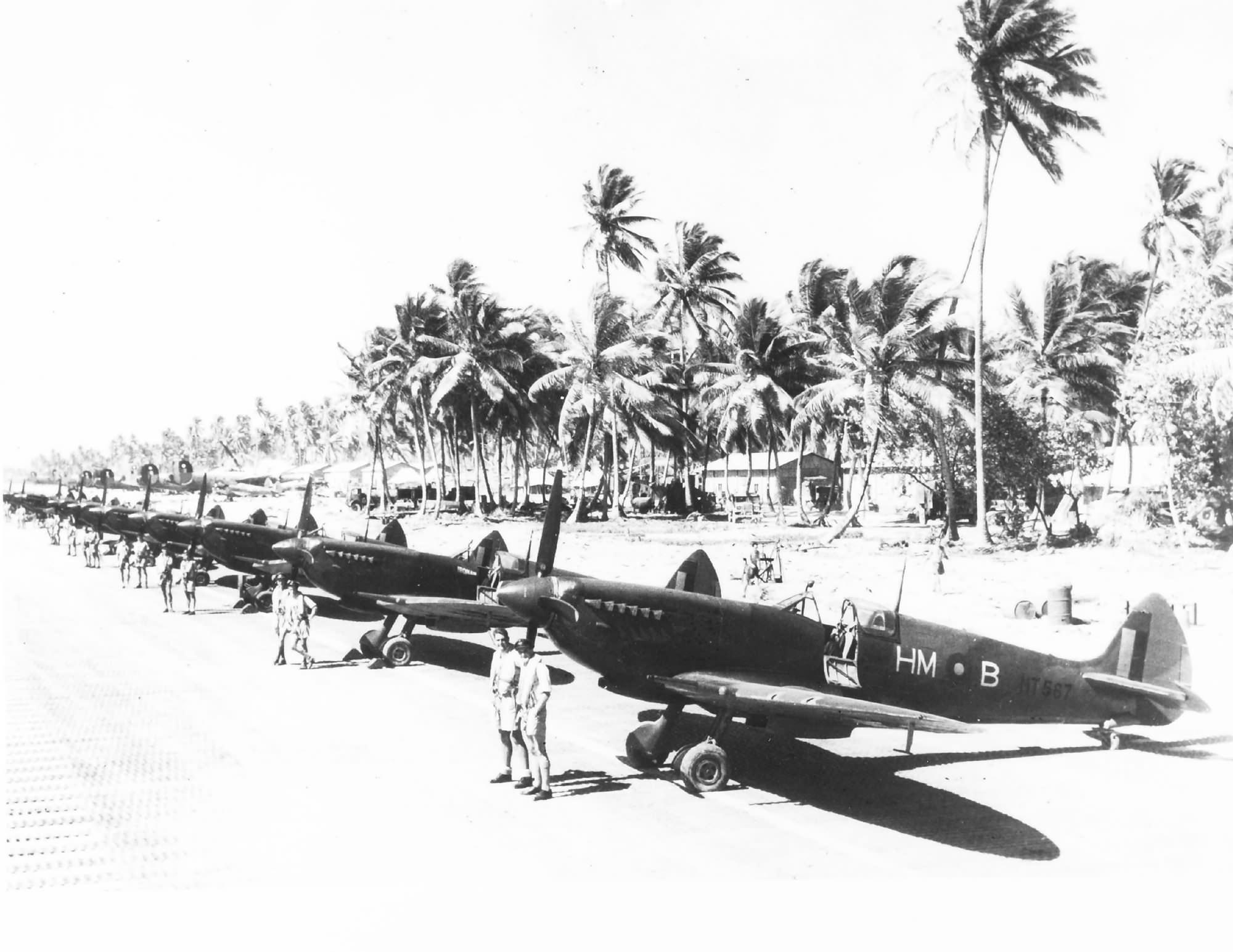 Spitfire MkVIII RAF 136Sqn HMB RN193 Cocos Islands India 1946 47 web 01