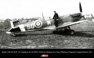 Asisbiz Spitfire MkIIa RAF 145Sqn SOM P8071 Jean Offenberg Tangmere England March 1941 01