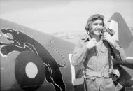Asisbiz Spitfire MkVIII RAF 152Sqn UMC at Sinthe Burma IWM CI1283