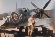Asisbiz Spitfire LFIXc RAF 154Sqn HTV MK629 Corsica 1944 01
