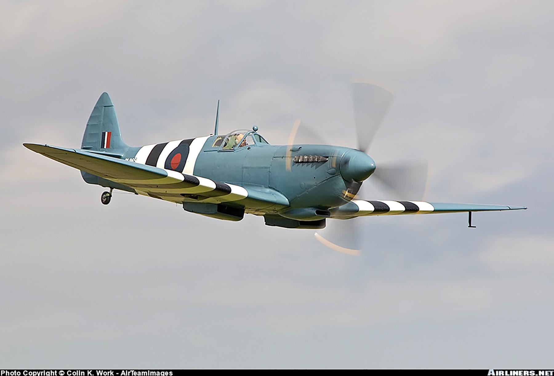 Airworthy Spitfire warbird PRXI RAF 16Sqn R PL965 09