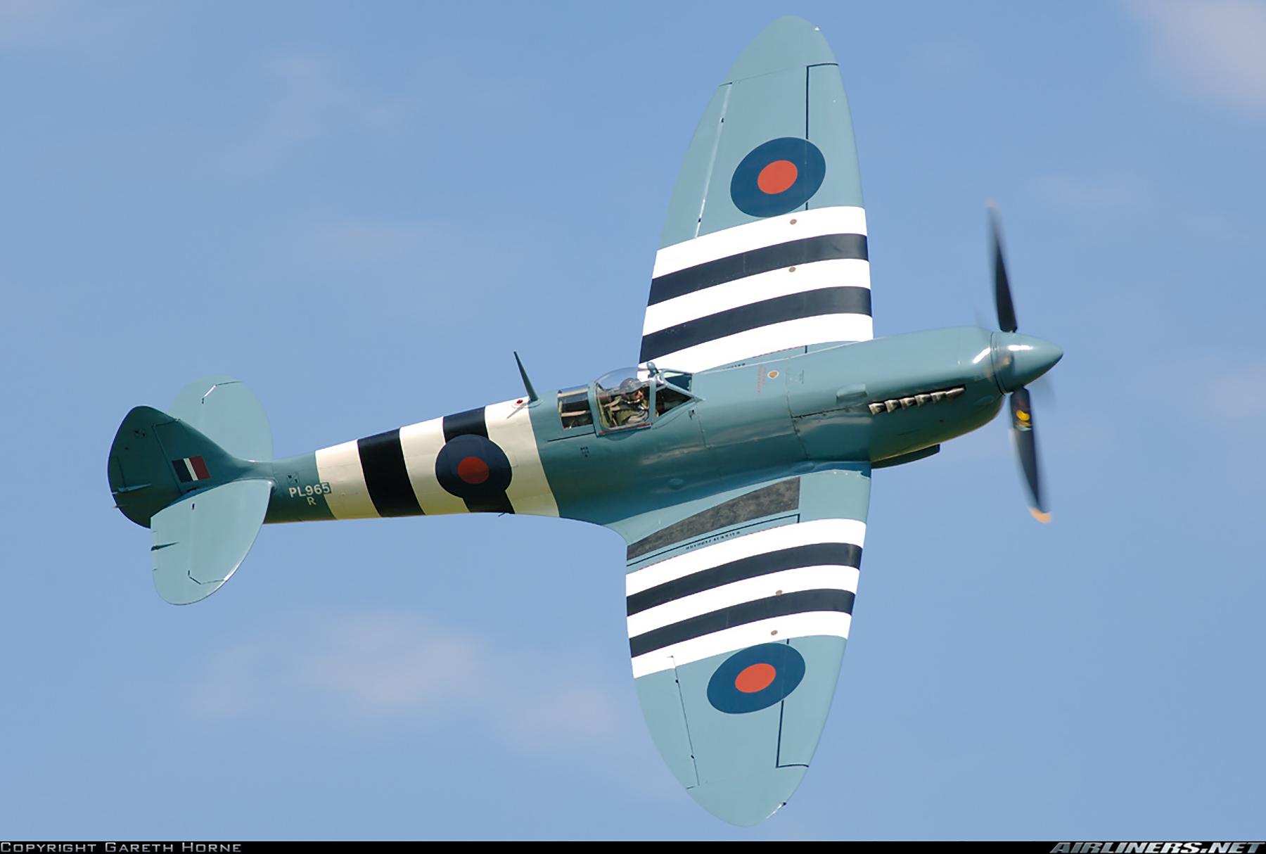 Airworthy Spitfire warbird PRXI RAF 16Sqn R PL965 16