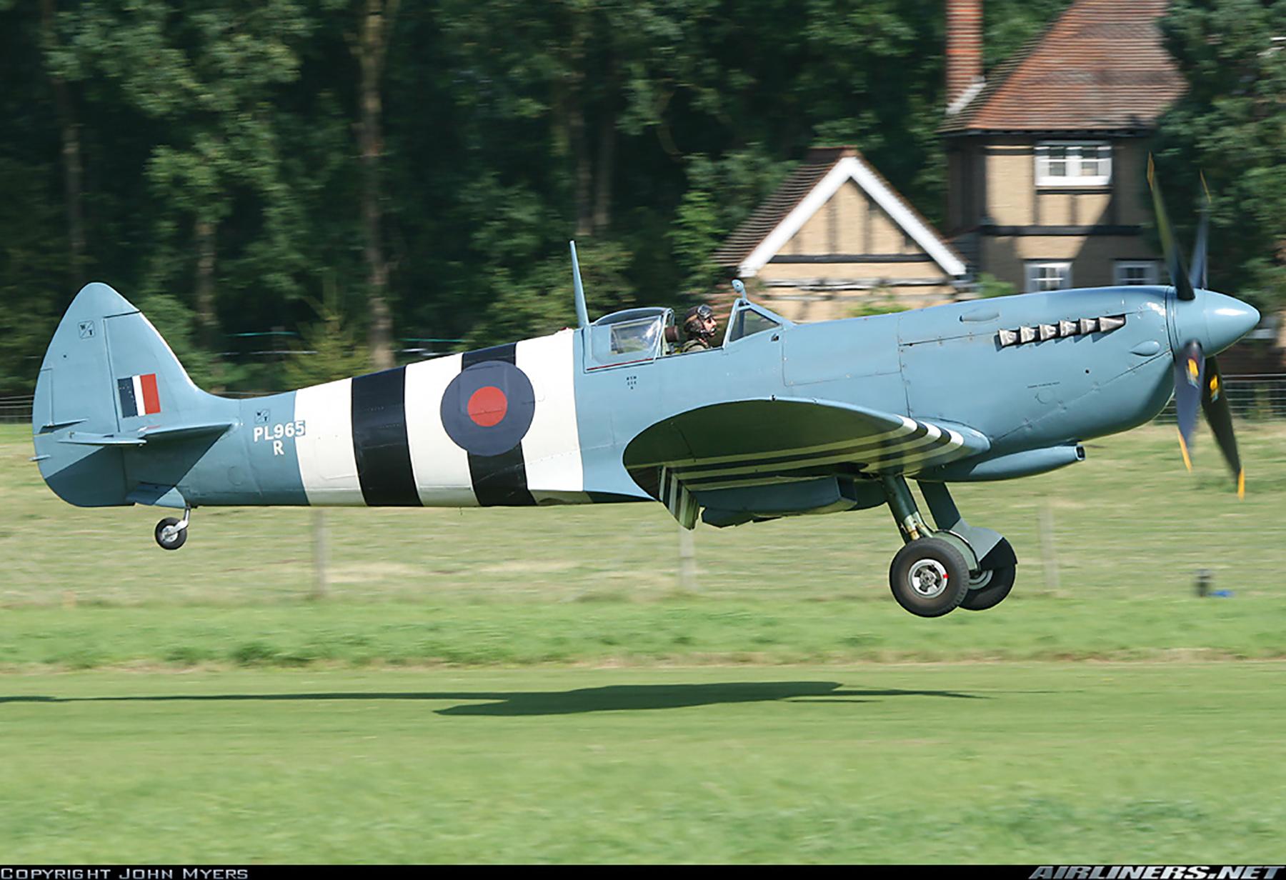 Airworthy Spitfire warbird PRXI RAF 16Sqn R PL965 21