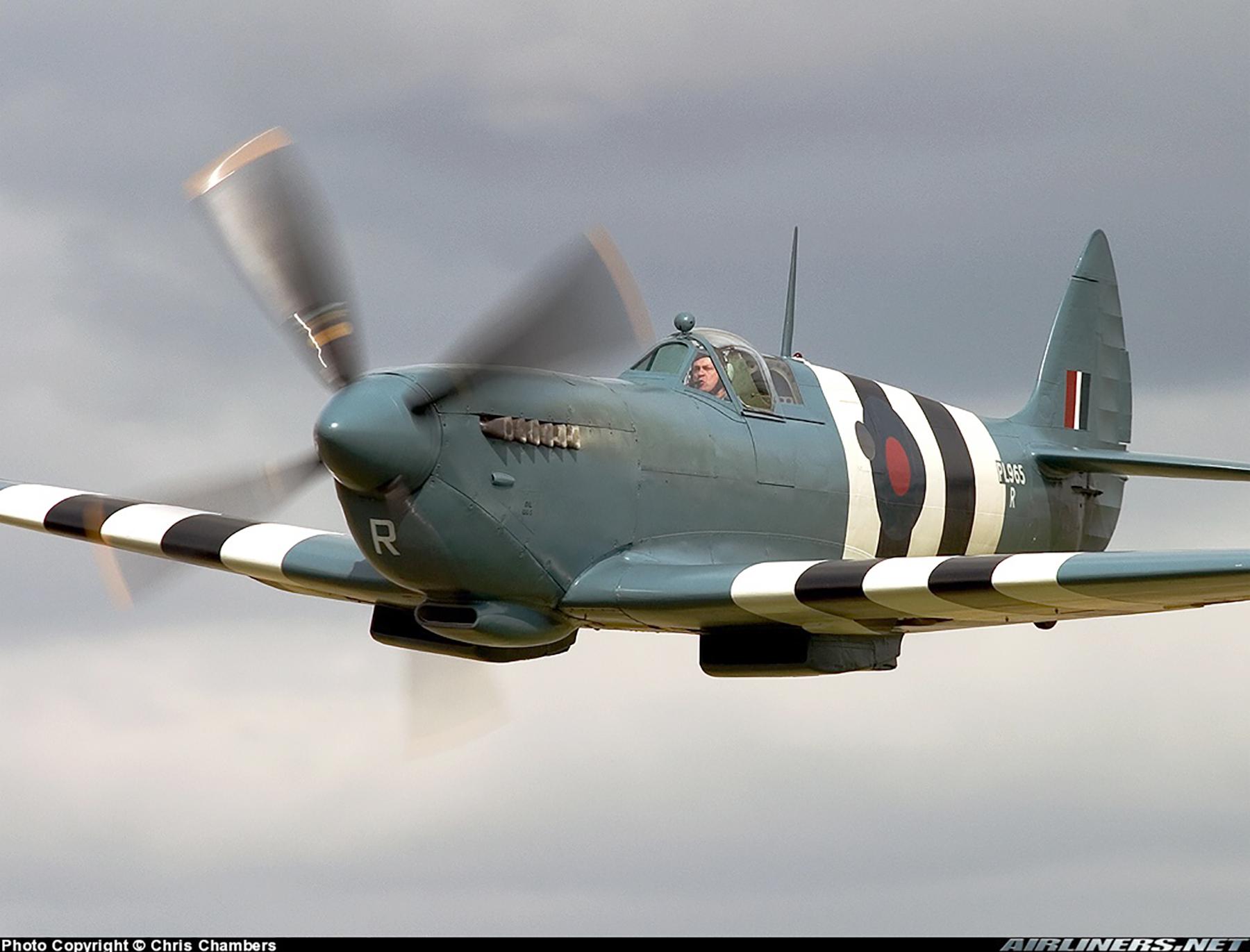 Airworthy Spitfire warbird PRXI RAF 16Sqn R PL965 36