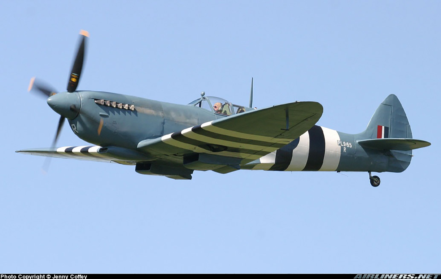 Airworthy Spitfire warbird PRXI RAF 16Sqn R PL965 37