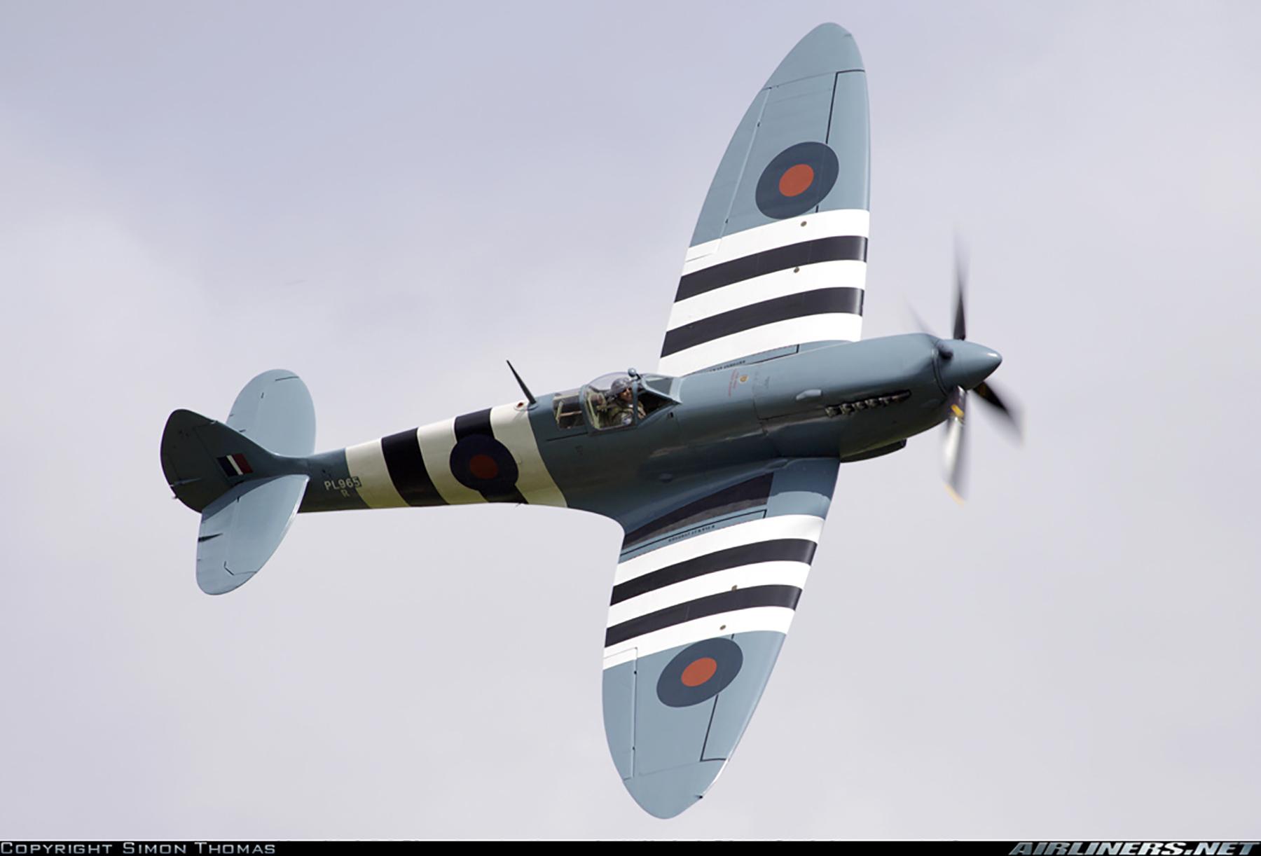 Airworthy Spitfire warbird PRXI RAF 16Sqn R PL965 41