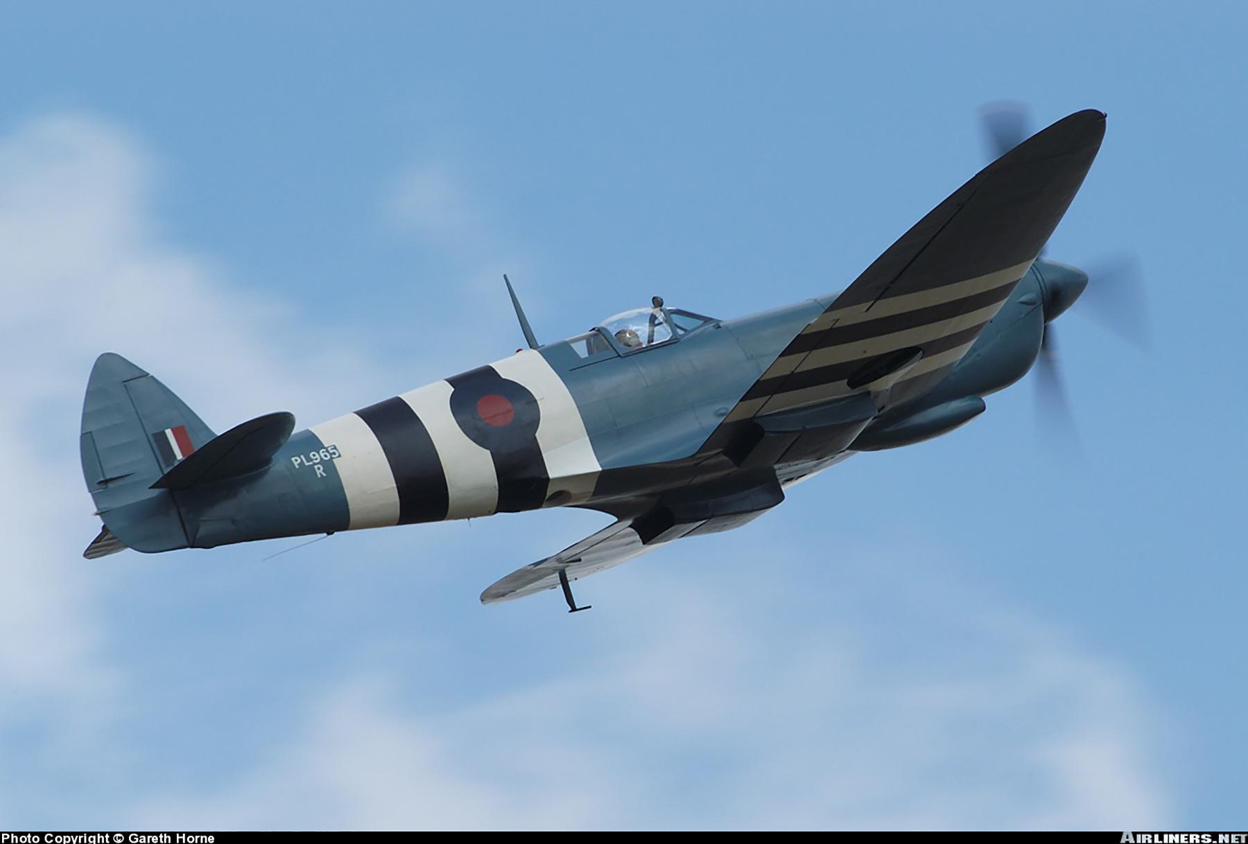 Airworthy Spitfire warbird PRXI RAF 16Sqn R PL965 43