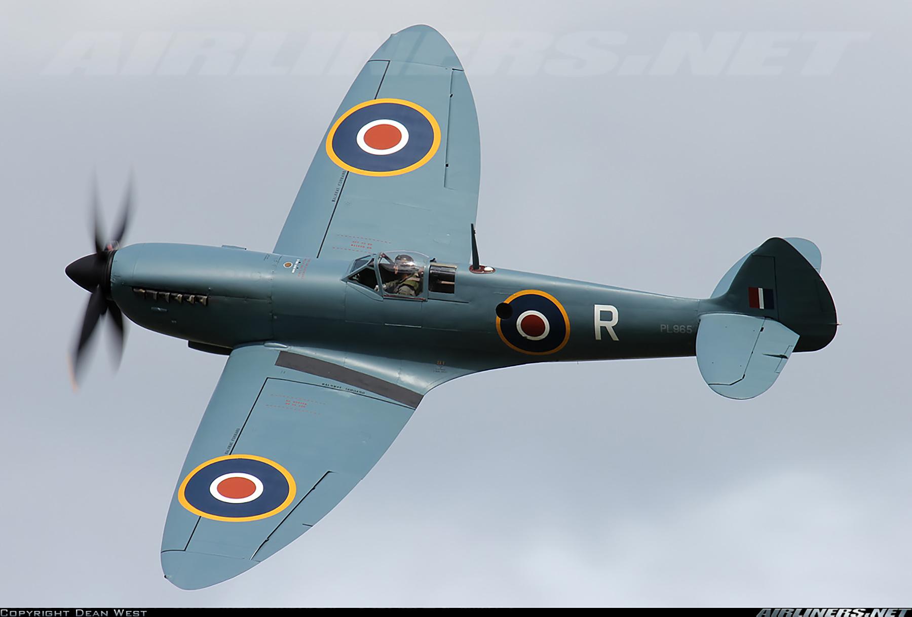 Airworthy Spitfire warbird PRXI RAF 16Sqn R PL965 pre D day 04