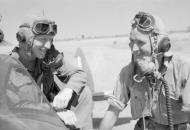 Asisbiz Aircrew RAF 17Sqn Squadron Leader JH Ginger Lacey at Ywadon Burma IWM CF322