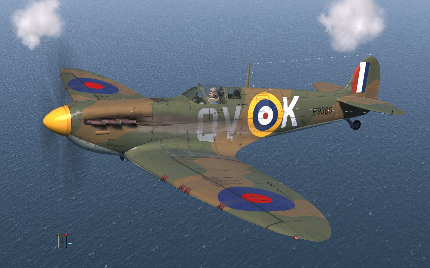 COD KF MkI RAF 19Sqn QVK Brian Lane Battle of Britain Fowlmere 1940 V0A