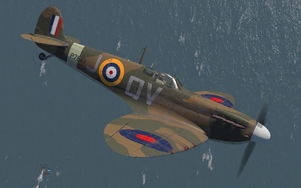 COD KF MkIIa RAF 19Sqn QVJ Walter Lawson P7849 Fowlmere 1941 V0A