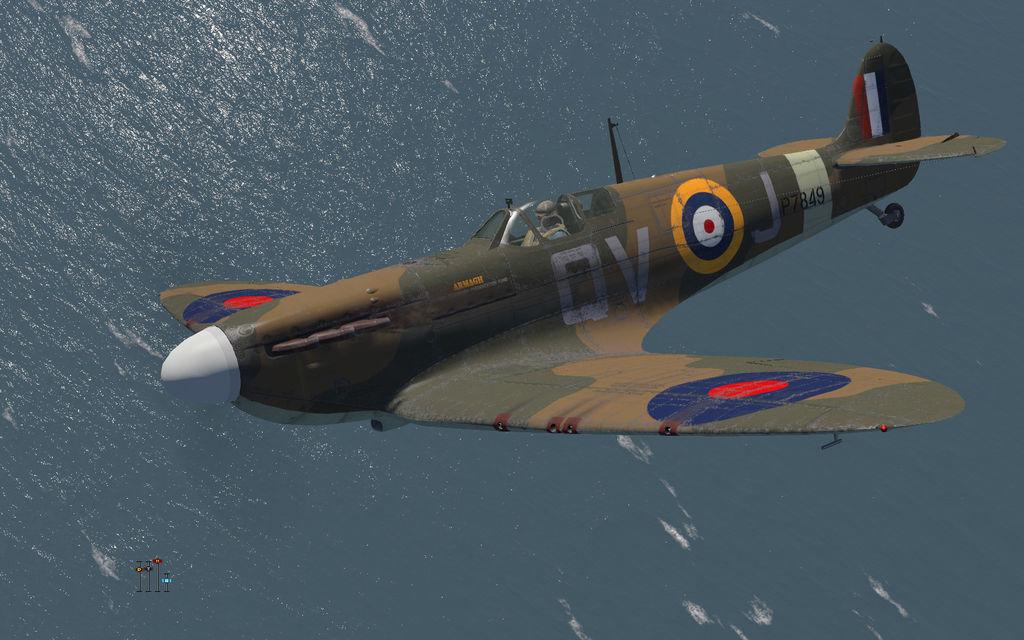 COD KF MkIIa RAF 19Sqn QVJ Walter Lawson P7849 Fowlmere 1941 V0B