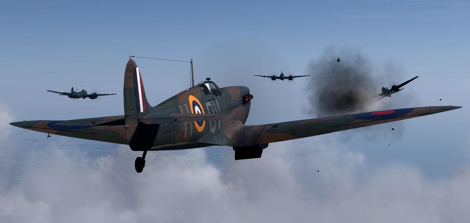 COD KF MkIa RAF 19Sqn QVH George Unwin X4179 Battle of Britain 1940 V03