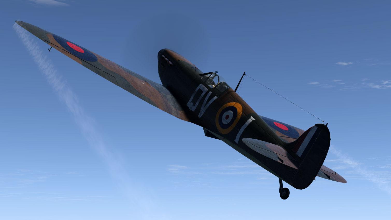 COD KF MkIa RAF 19Sqn QVI Sgt Jennings X4474 Fowlemere Sep 1940 V01