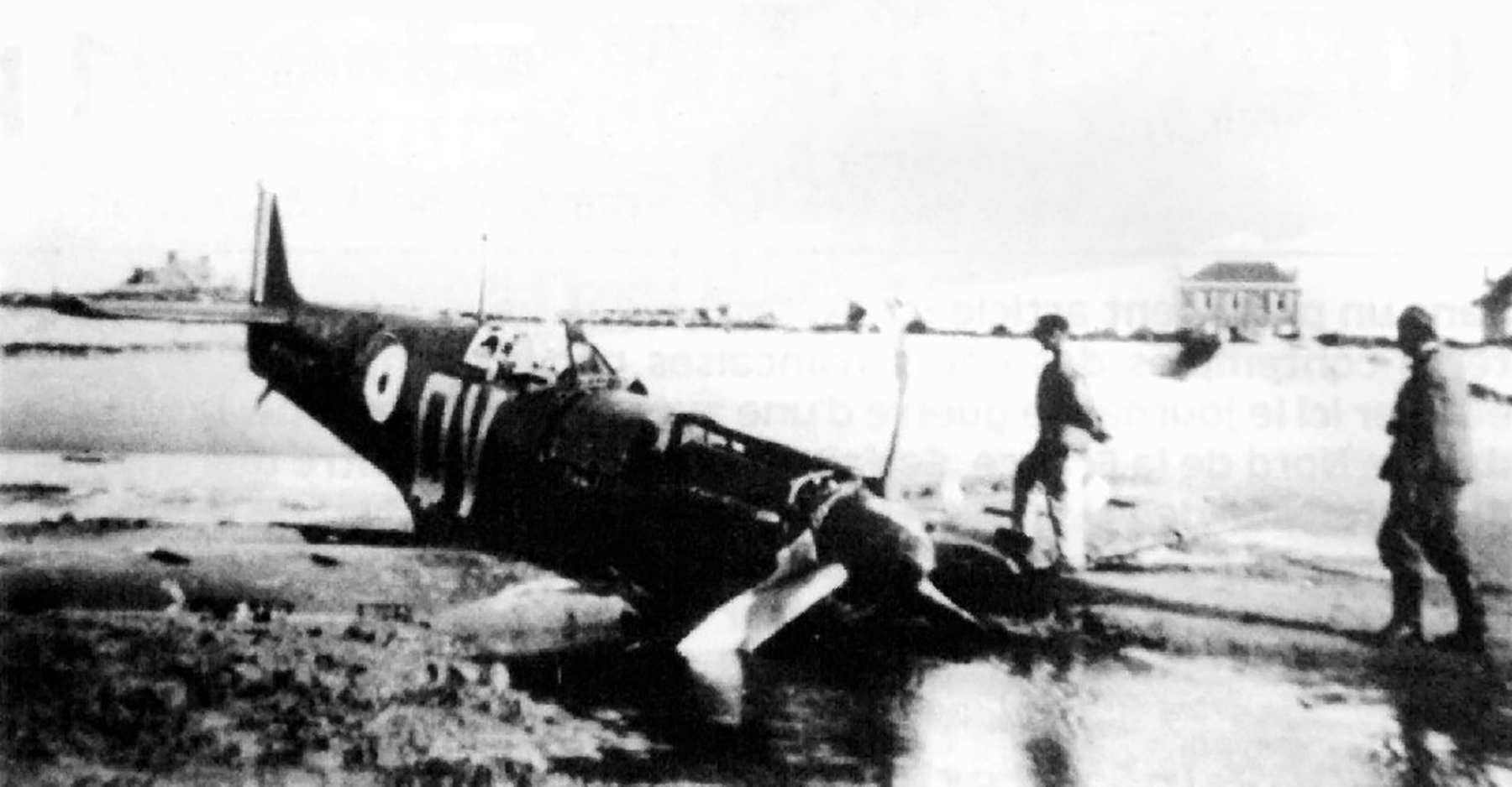 Spitfire MkIa RAF 19Sqn QV N3200 SLdr GD Stephenson POW Dunkerque 26th May 1940 02