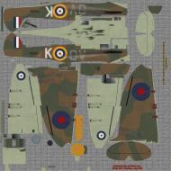 Asisbiz COD KF MkI RAF 19Sqn QVK Brian Lane Battle of Britain Fowlmere 1940