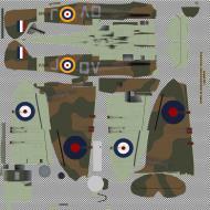 Asisbiz COD KF MkIIa RAF 19Sqn QVJ Walter Lawson P7849 Fowlmere 1941