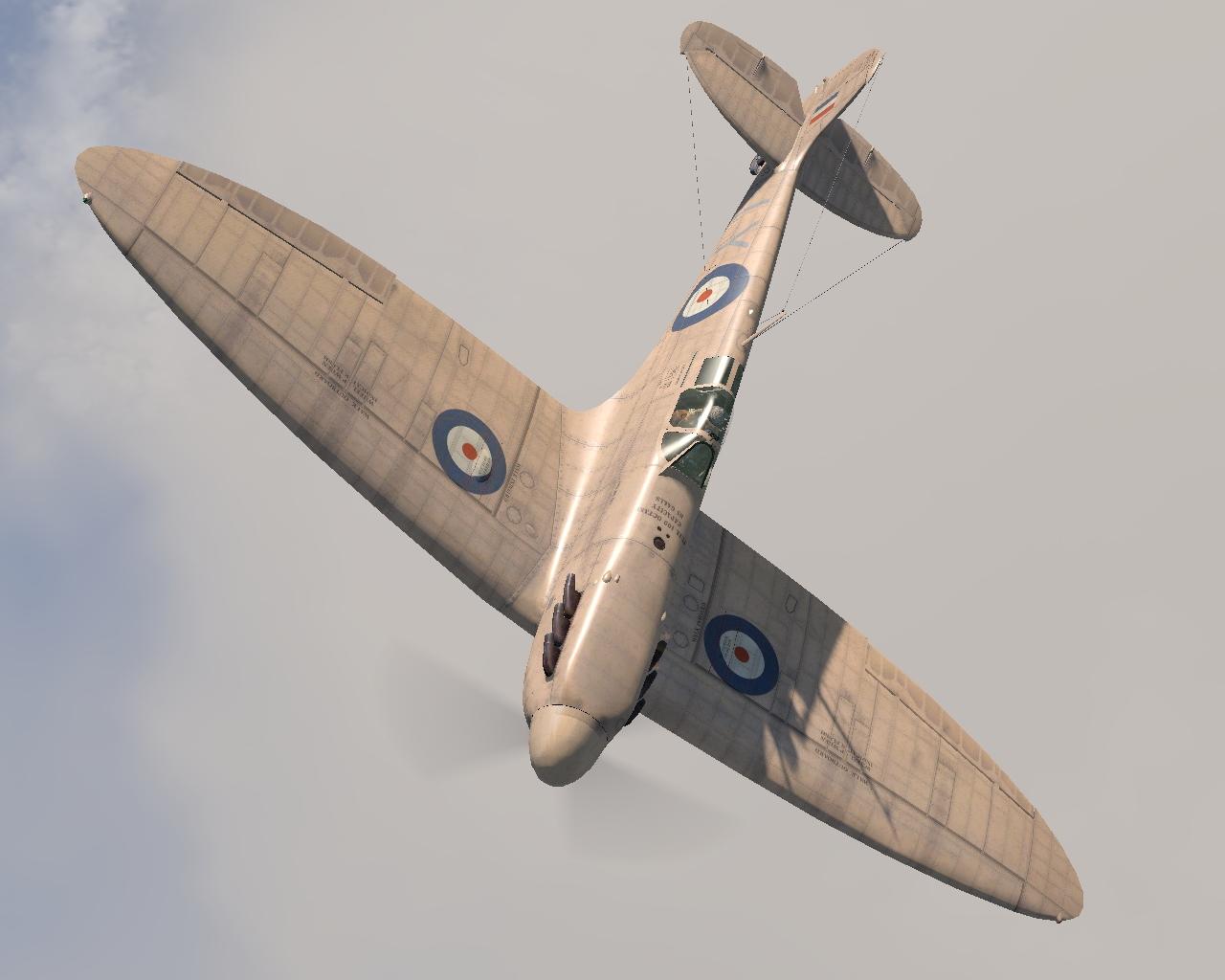 COD MS Spitfire PRIG RAF 1PRU LY R7059 St Eval Cornwall England 1941 V0A