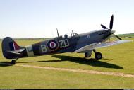 Asisbiz Airworthy Spitfire warbird RAF 222Sqn ZDB MH434 England 19