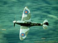 Asisbiz Airworthy Spitfire warbird RAF 222Sqn ZDB MH434 England 21