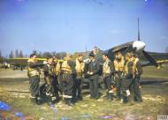 Asisbiz Spitfire MkVb RAF 222Sqn at North Weald Essex May 1942 IWM COL192