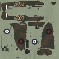 Asisbiz COD C6 MkI RAF 234Sqn AZD Robert Doe X4036 Middle Wallop 1940
