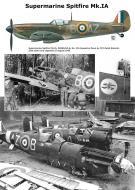 Asisbiz Spitfire MkIa RAF 234Sqn AZB Ralph Roberts R6985 Cherbourg France Aug 15 1940 0A