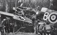 Asisbiz Spitfire MkIa RAF 234Sqn AZB forced landed Cherbourg France Aug 15 1940 01