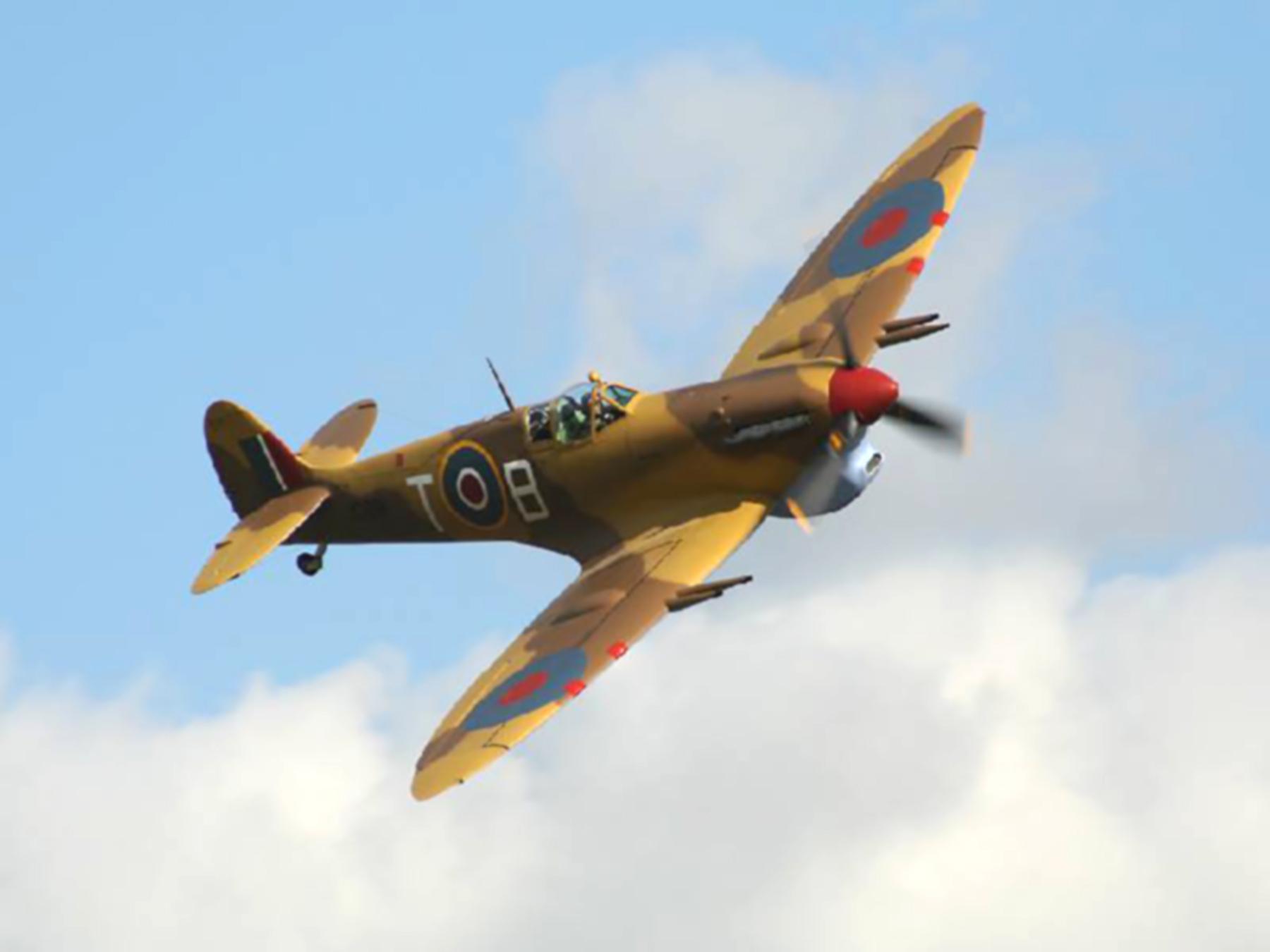 Airworthy Spitfire warbird MkVc Trop 249Sqn TB Jack Hughes JK879 01