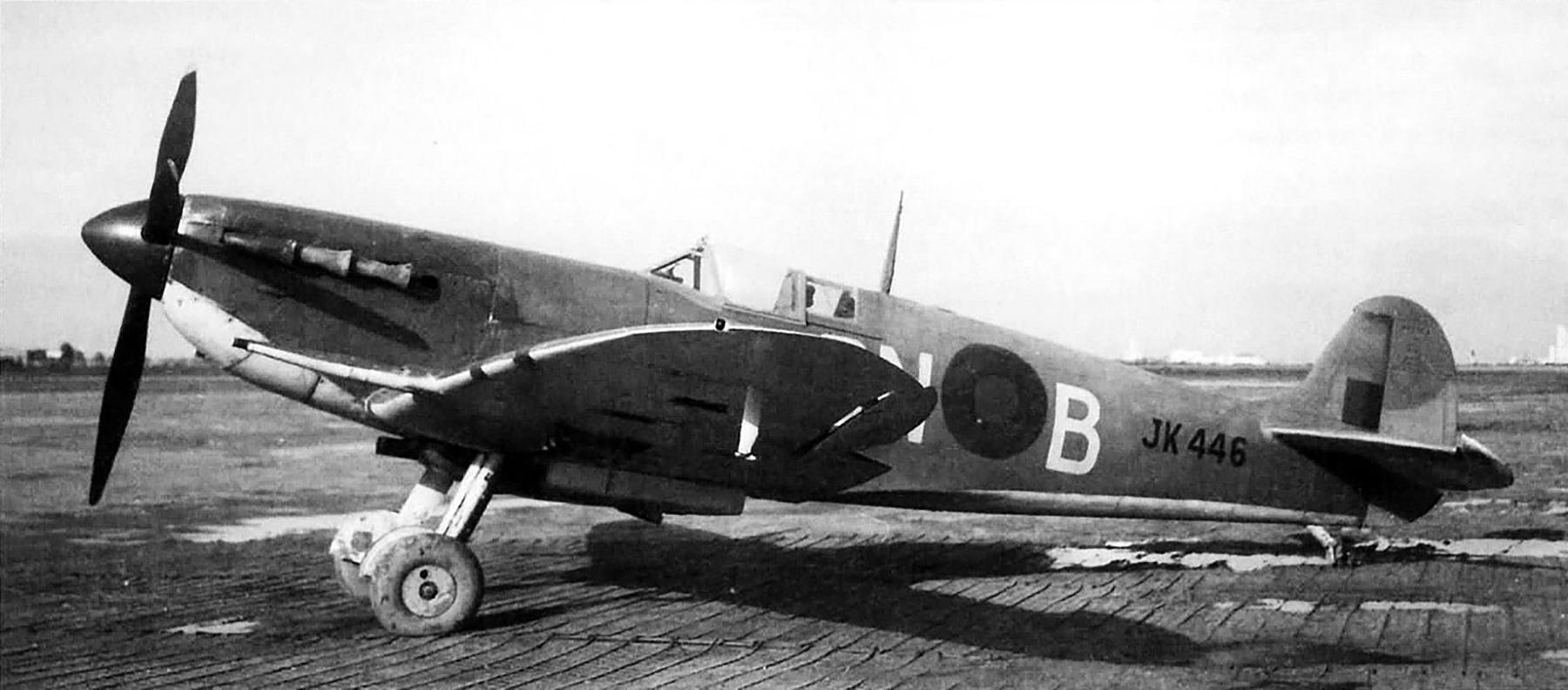 Spitfire MkVc RAF 249Sqn GNB JK446 Takoradi Ghana 1943 01