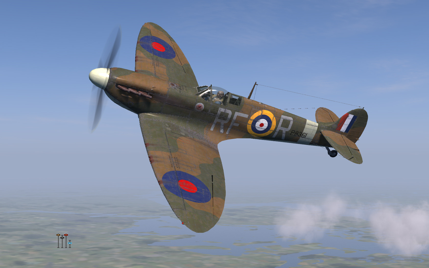 COD KF MkIIa RAF 303Sqn RFR P8361 Northalt 1941 V0A