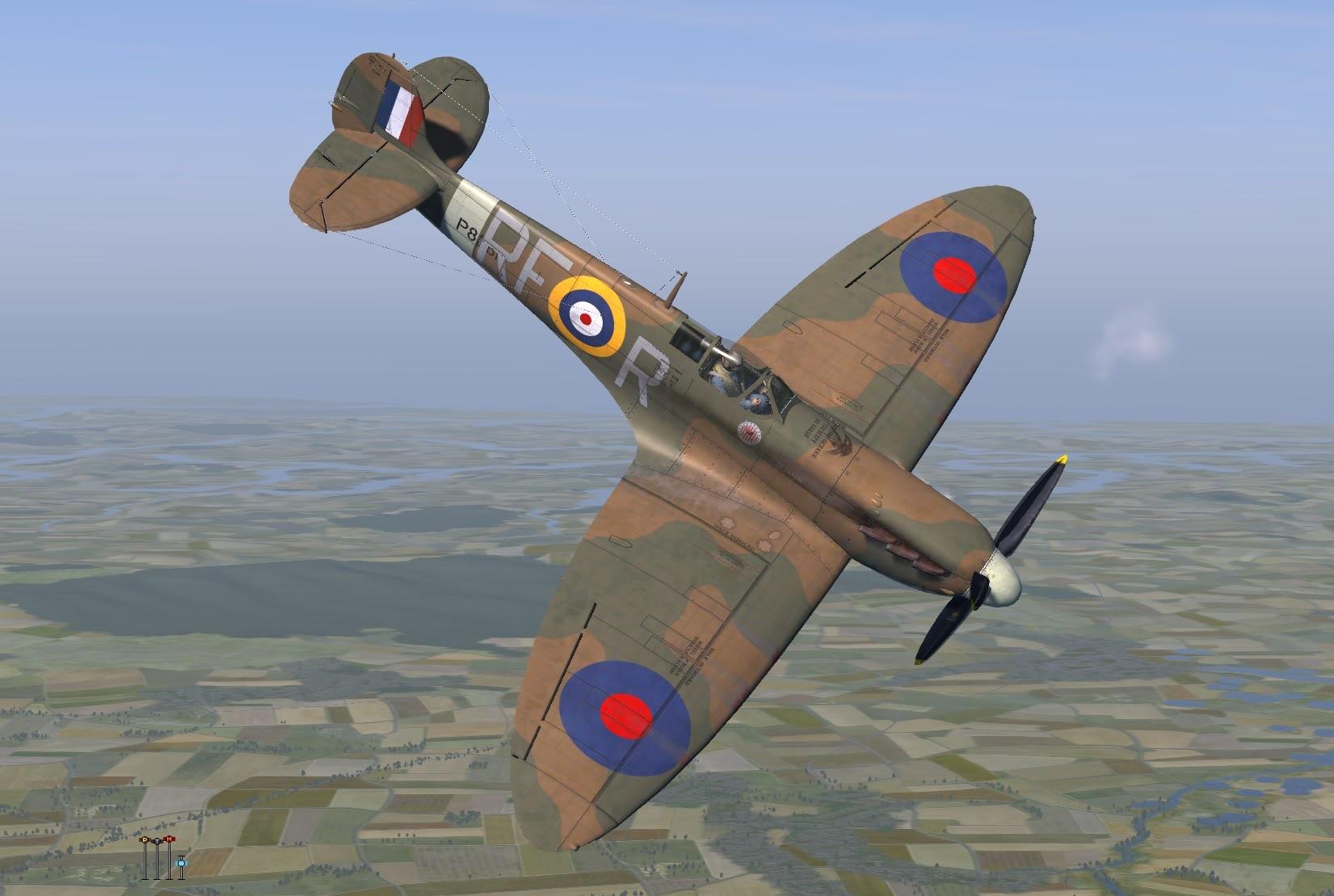 COD KF MkIIa RAF 303Sqn RFR P8361 Northalt 1941 V0B