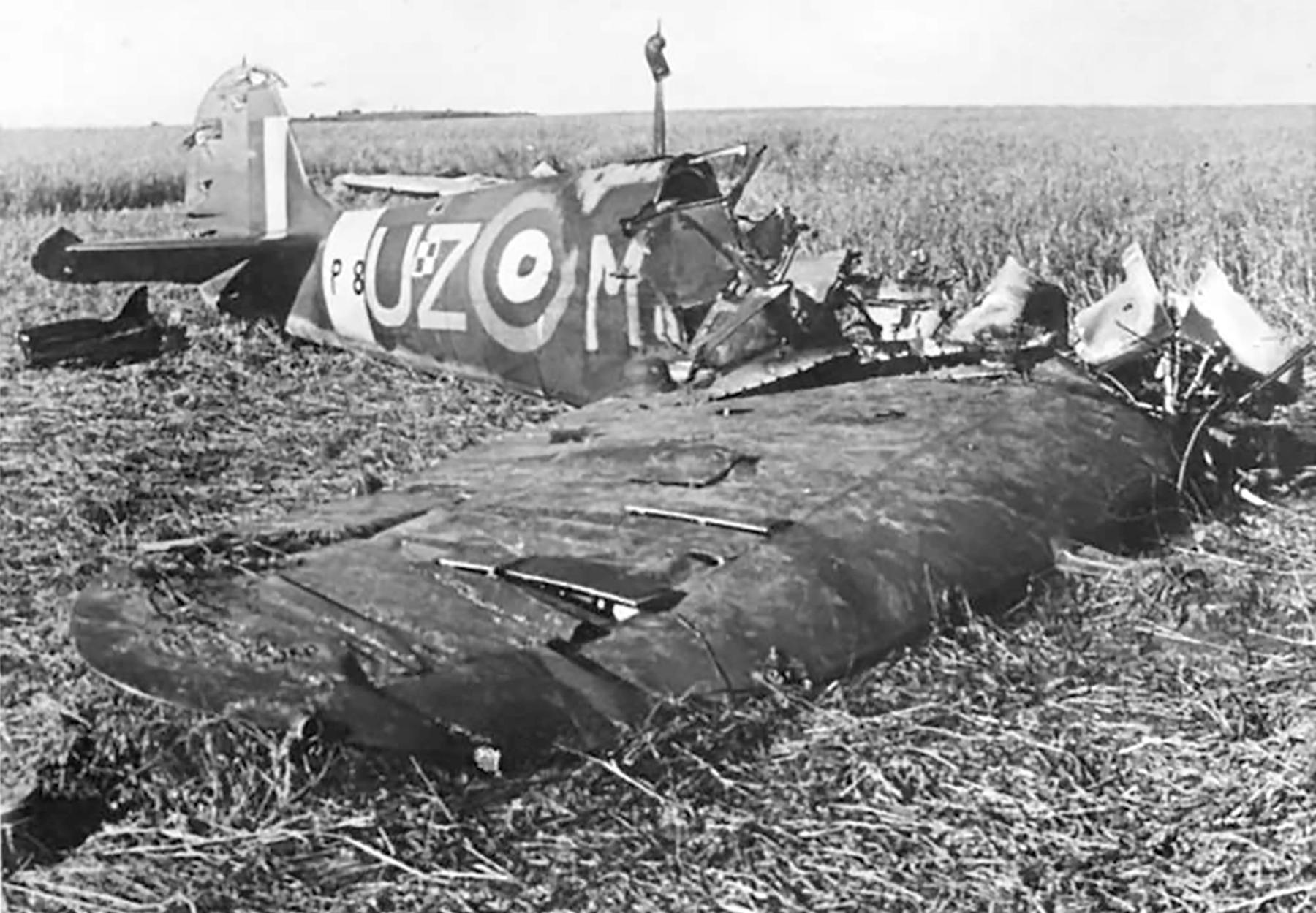 Spitfire MkIIa RAF 306Sqn UZM P8462 crash site Sep 1941 web 01