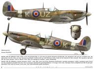 Asisbiz Spitfire MkIXc RAF 306Sqn UZK Kazimiers Rutkowski BS403 TC15015 Supermarine Spitfire MkIX Page 06