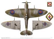 Asisbiz Spitfire MkIXc RAF 306Sqn UZK Kazimiers Rutkowski BS403 TC15015 Supermarine Spitfire MkIX Page 07