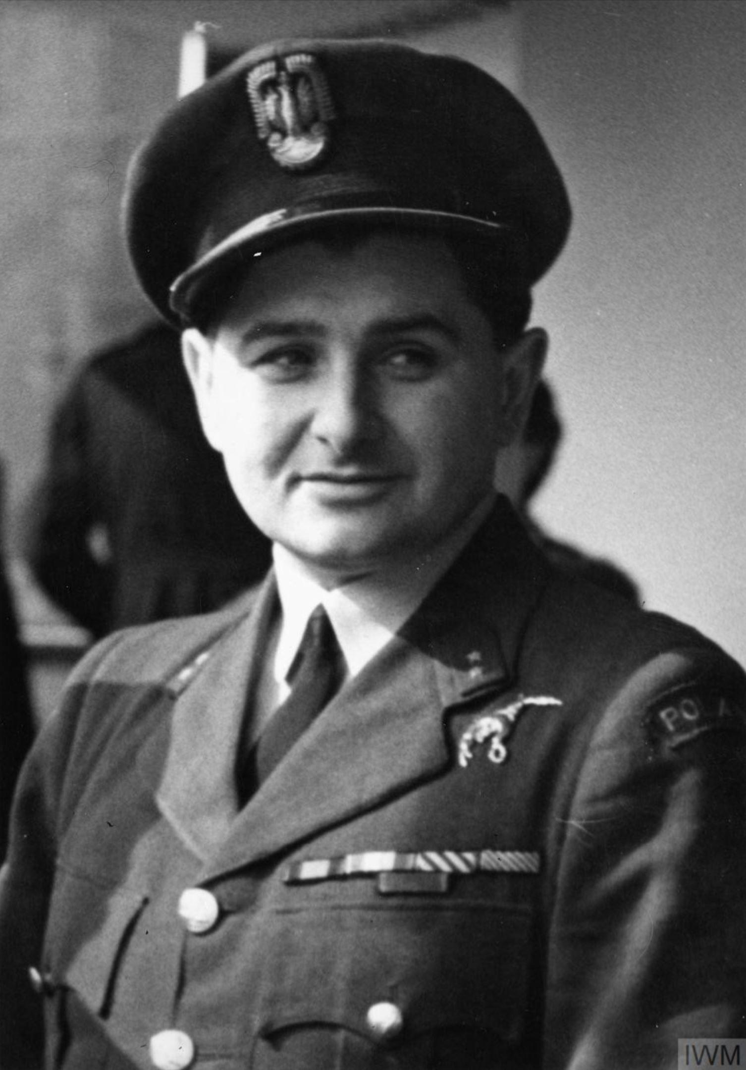 Aircrew RAF 308Sqn (Polish) pilot Antoni Tony Glowacki 13 Apr 1943 IWM HU106461
