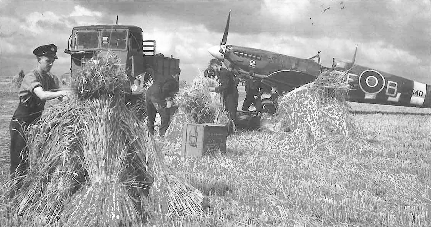 Spitfire LFIX RAF 308Sqn ZFB MK940 late 1944 Militaria (61) 2014