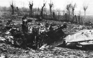 Asisbiz Aircrew RAF 308Sqn pilot Taddeusz Szlenkier with remains of his Fw 190 SD 1st Jan 1945 02